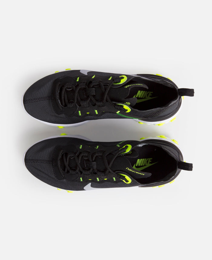 Womens Nike React Element 55 (Black/Volt)