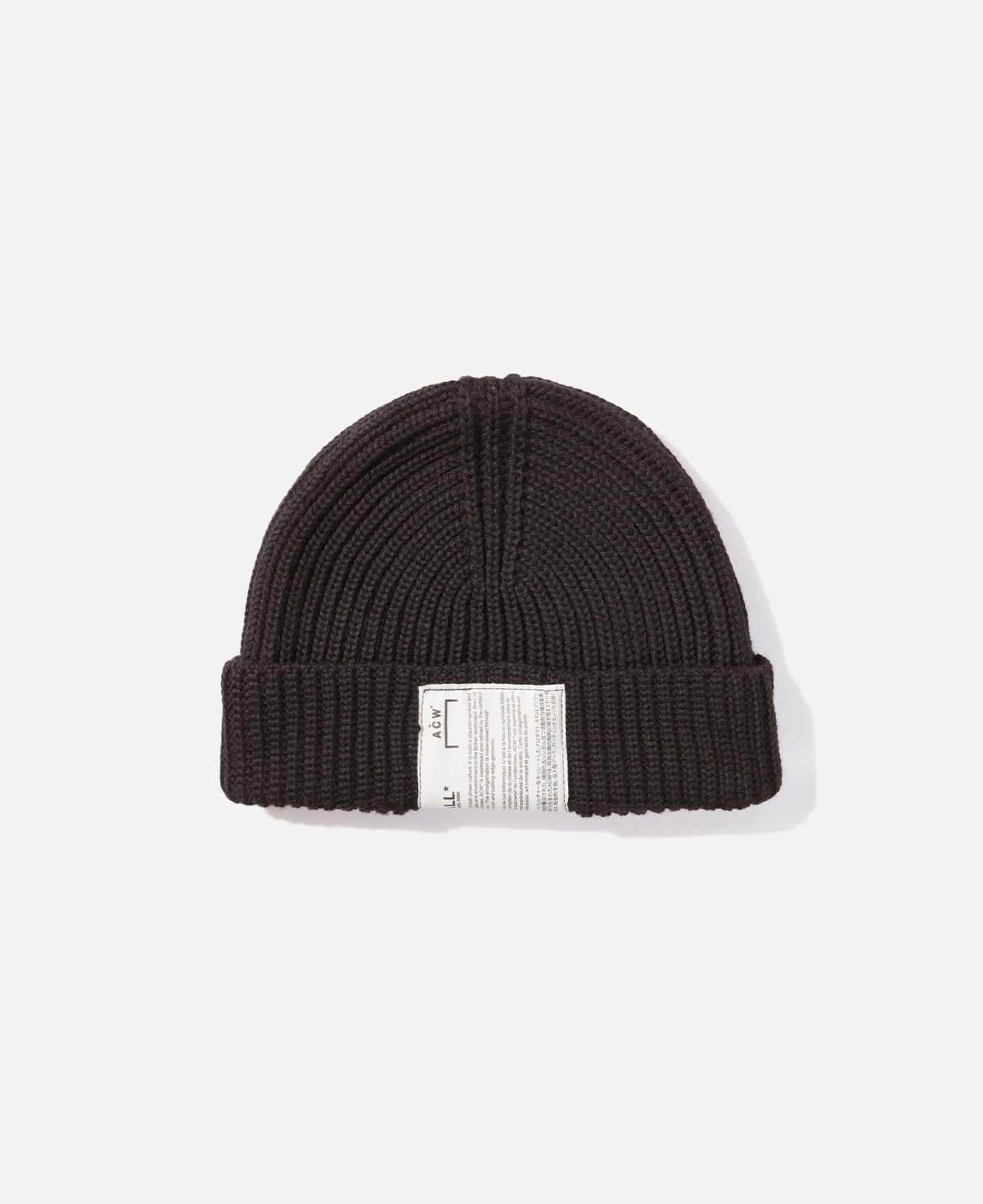 Beanie W Invisible Zip