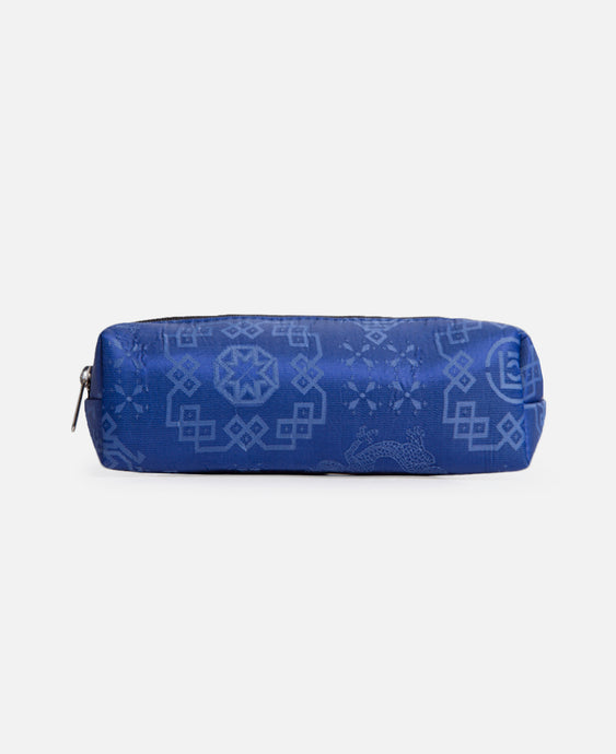 Silk Pen Case (Blue)