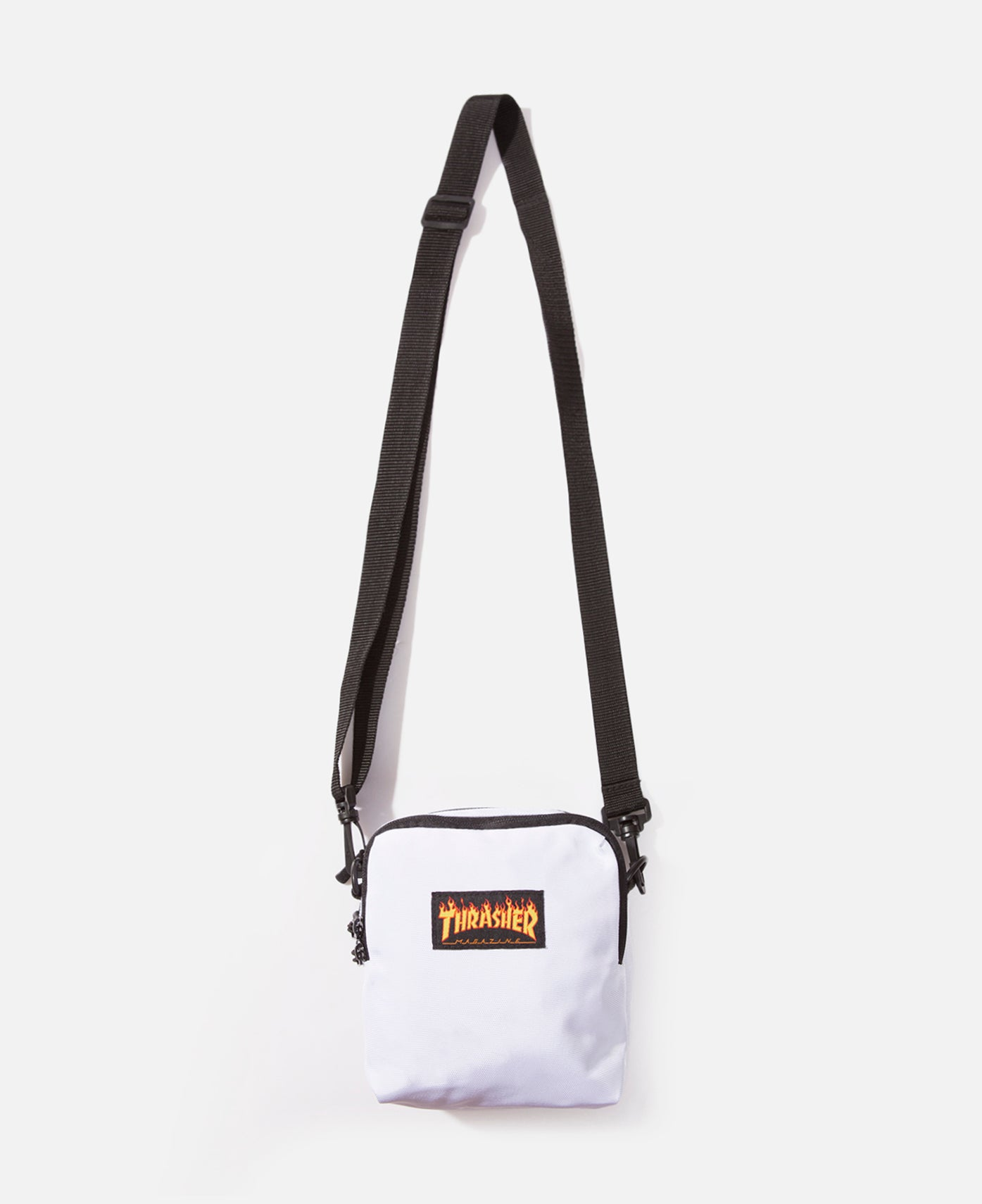 Flame Mini Shoulder Bag (White)