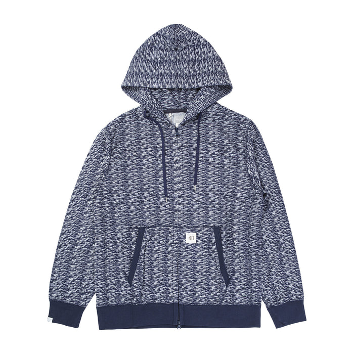MENS ZIP UP HOODED 'WORKADAY'