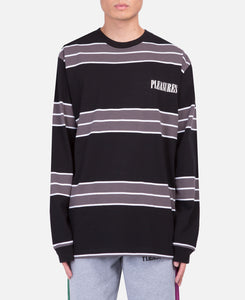 Spirit Stripe L/S T-Shirt (Black)