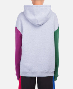 Split Color Hoodie (Grey)