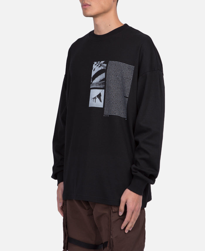 Flag Graphic L/S T-Shirt