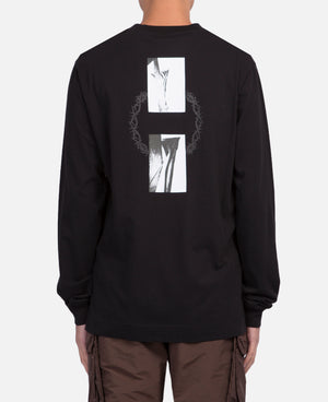 Flag In Thorn L/S T-Shirt
