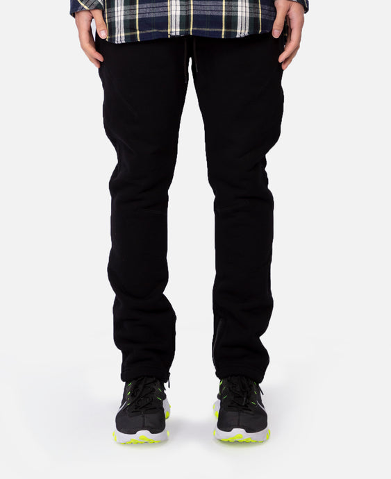 Hiker Easy Pants Tapered Fit Cotton Sweat (Black)