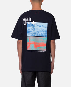Visit CLOTOPIA T-Shirt (Navy)