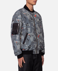 Reversible Camo Bomber Jacket