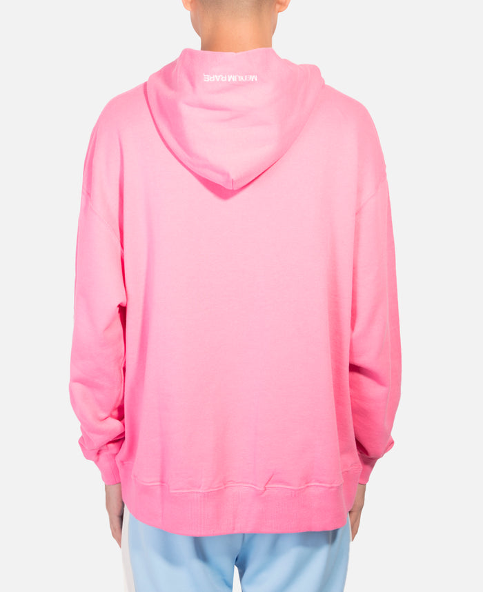 Relax Hoodie With Leopard Print (Pink)