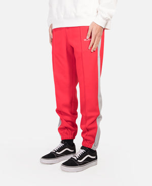 Track Pant With Side Line (Red)