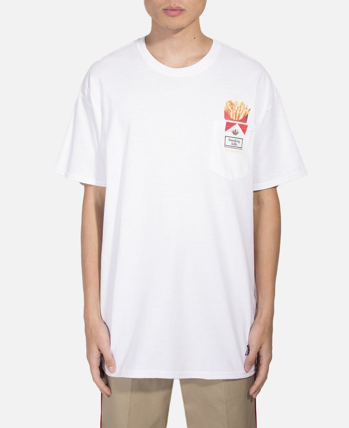 Love & Hate Pocket T-Shirt (White)