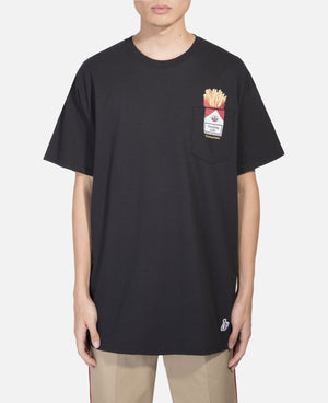 Love & Hate Pocket T-Shirt (Black)