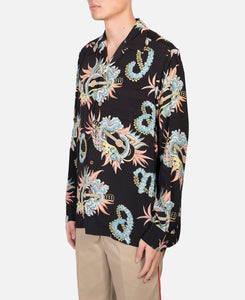 Jamaica Flower L/S Hawaiian Shirt