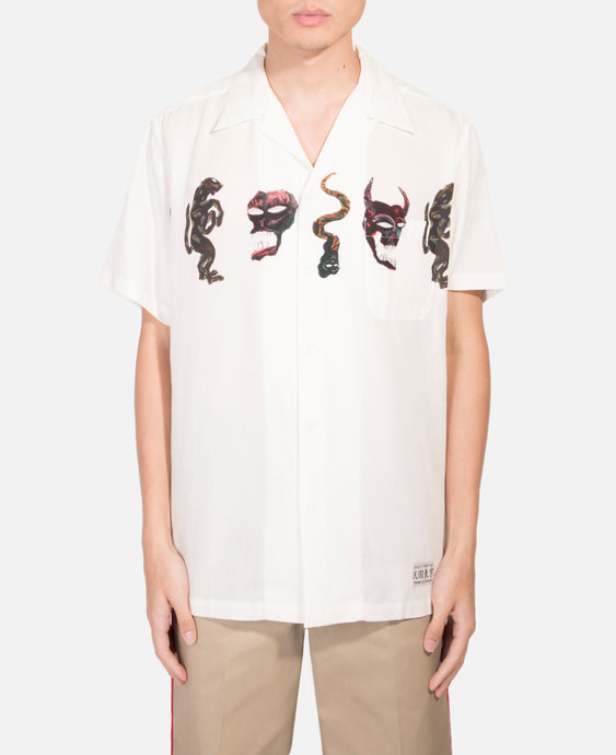 Monster S/S Open Collar Shirt