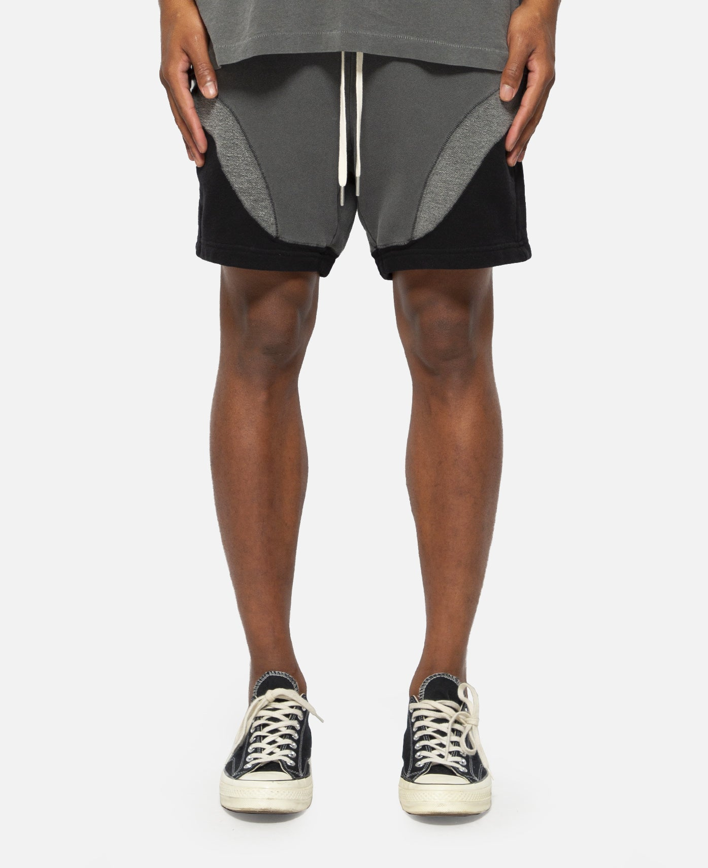Loose Stitch Shorts (Grey)