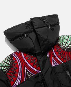 Neo African Puffer Jacket (Black)