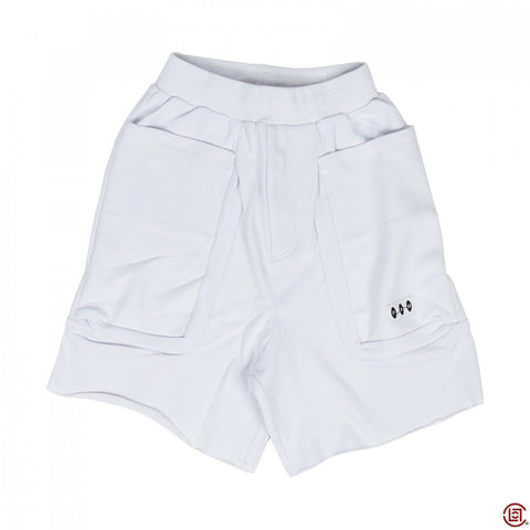 TERRY DUPLO SHORTS (WHITE)