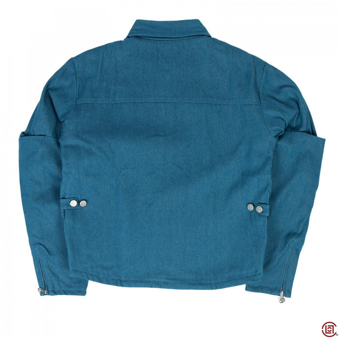 DENIM SIMPLEX JACKET (BLUE)