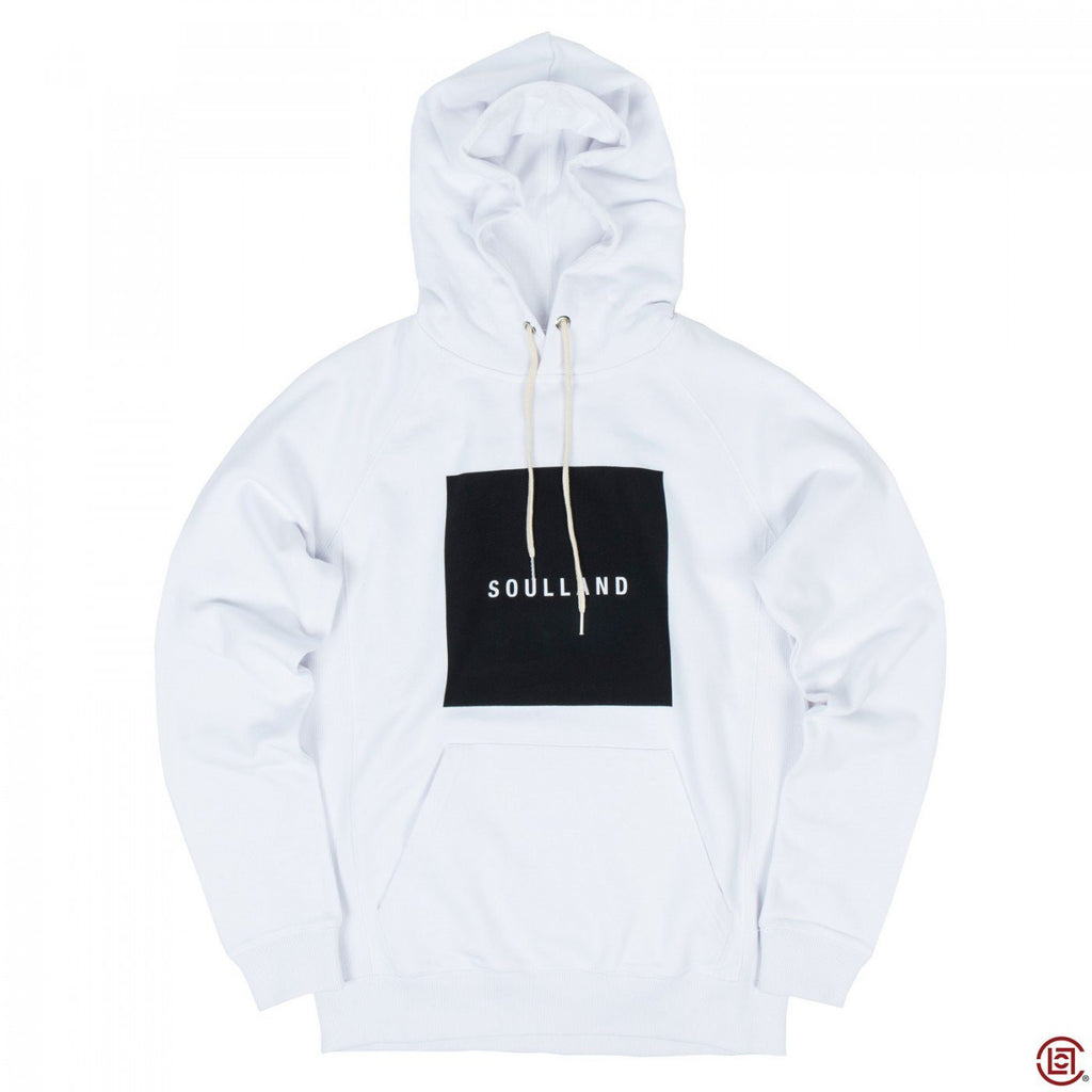 PF15 BARNY HOODED SWEATSHIRT (WHITE)