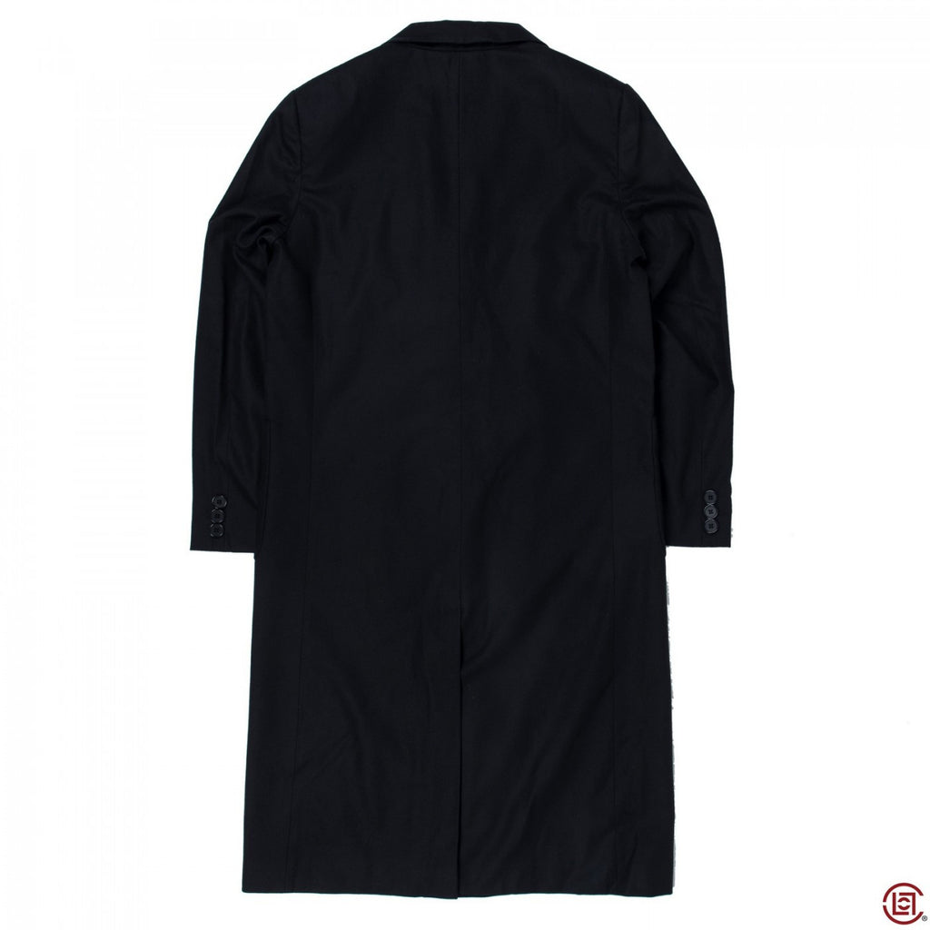 "TAILORED COAT W/EMB ""E"" (BLACK)"