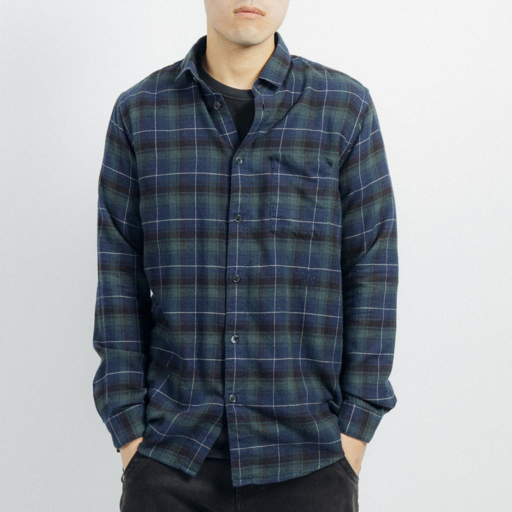 OSCAR SHIRT LONG SLEEVES (GREEN)