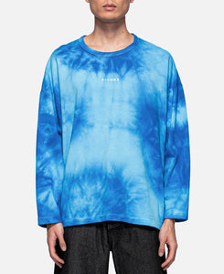 Deep Concentration Tie Dye L/S T-Shirt (Blue)