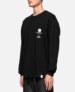 Block Logo L/S T-Shirt (Black)