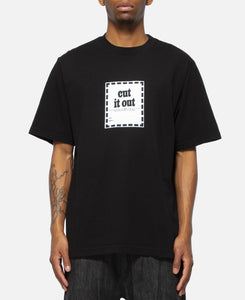Cut It Out T-Shirt (Black)