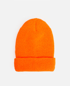 Rabbit's Foot Beanie (Orange)