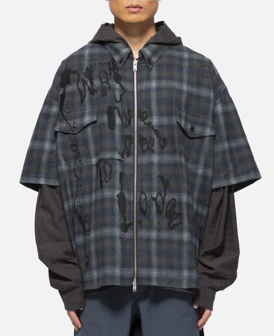 L/S Shirt Jacket (Grey)