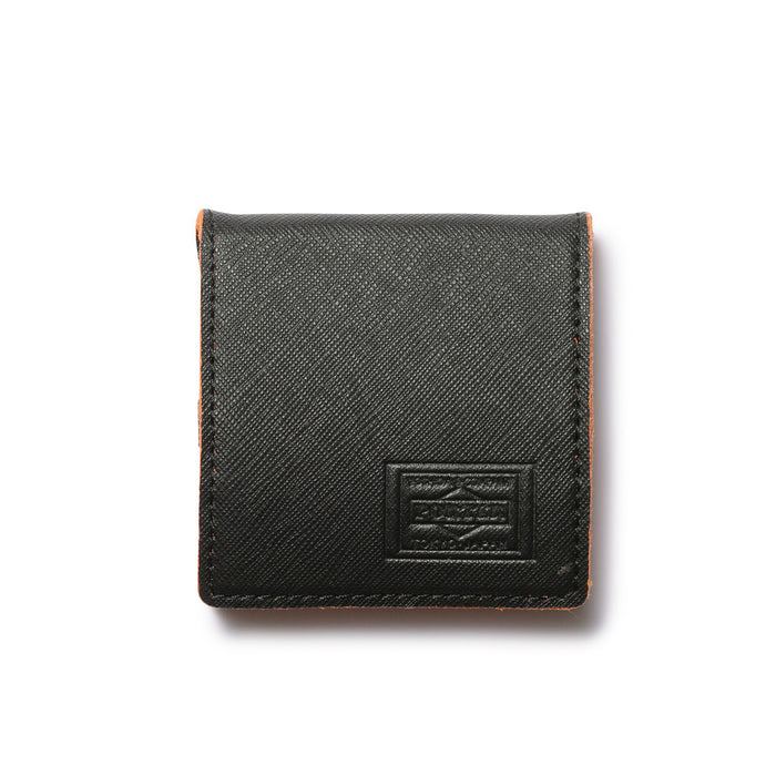 COIN CASE (CAPRI) (BLACK)