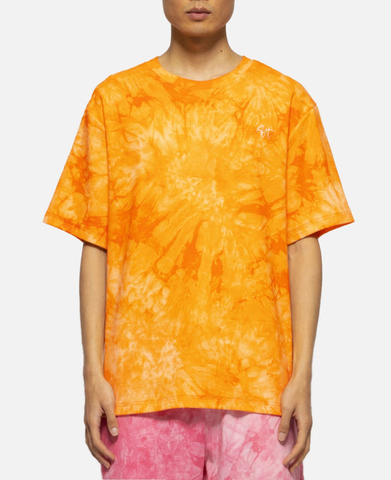 Tie Dye S/S T-Shirt (Orange)