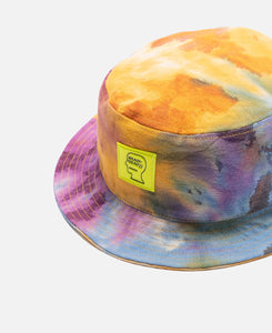 Dyed Canvas Bucket Hat (Multi)