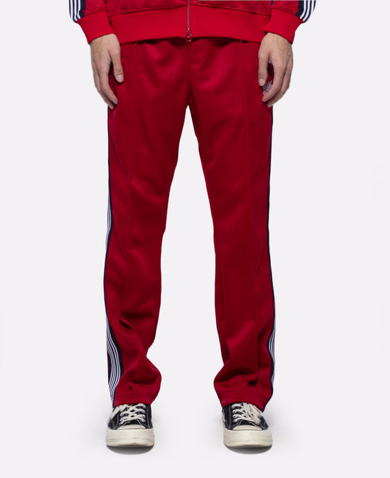 Narrow Track Pant (Red)