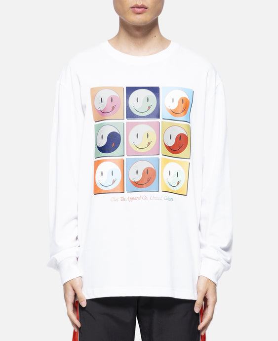 Smiley L/S T-Shirt (White)
