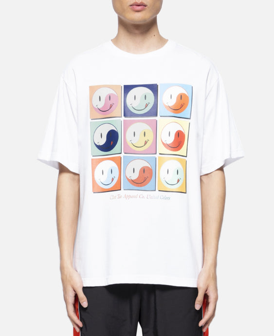Smiley S/S T-Shirt (White)