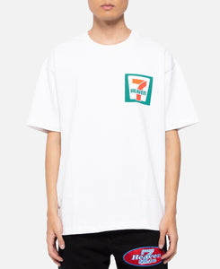 7-11 Logo S/S T-Shirt (White)