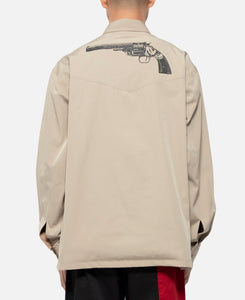 Pistol Shirt Jacket (Beige)