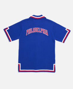 76ers 82-83 Knit Shooting Shirt