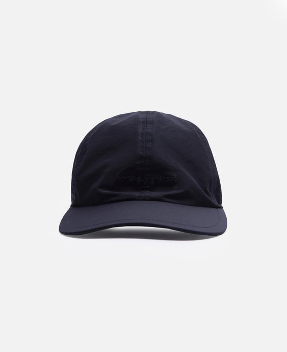 Logo Hat with Buckle (Black)