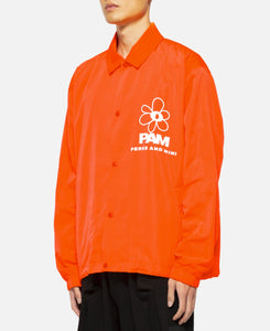 View Coach Jacket (Orange)