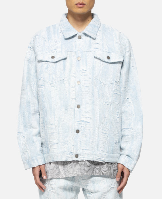 Distressed Storm Denim Jacket
