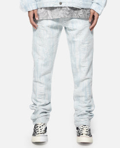 Distressed Storm Non Embroidered Denim Jeans