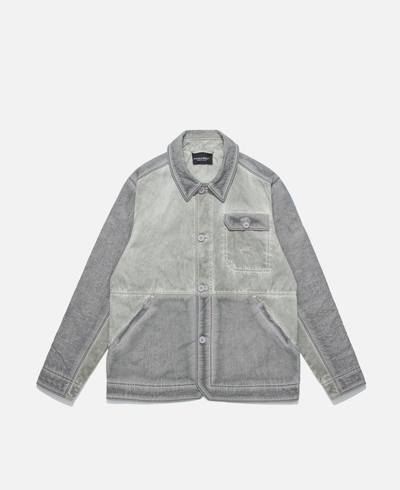 Over-Dye Workwear Jacket (Grey)
