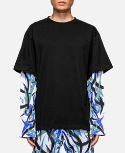 """Blue Tiger ALIENEGRA 2.0"" Layering T-Shirt (Blue)"