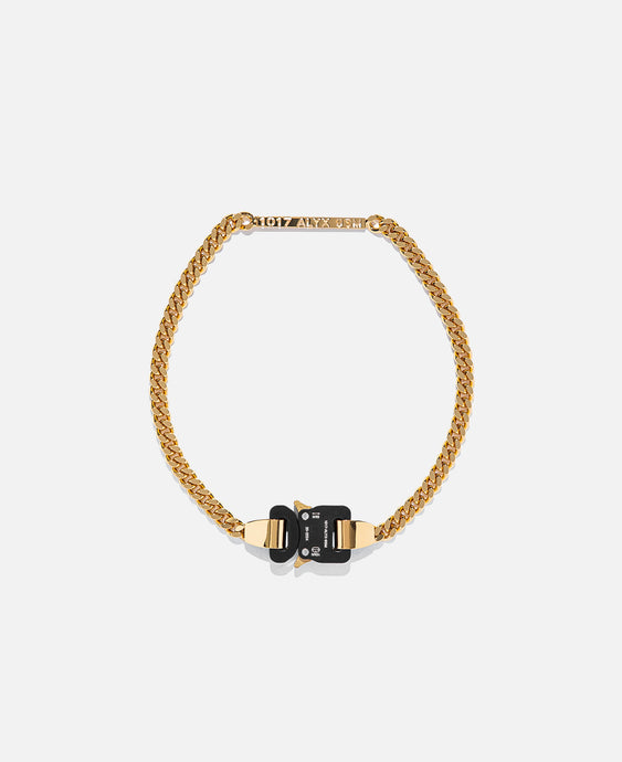 1017 Alyx 9Sm Buckle Necklace (Gold)