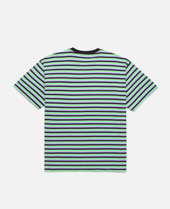 Striped Temple T-Shirt (Green)