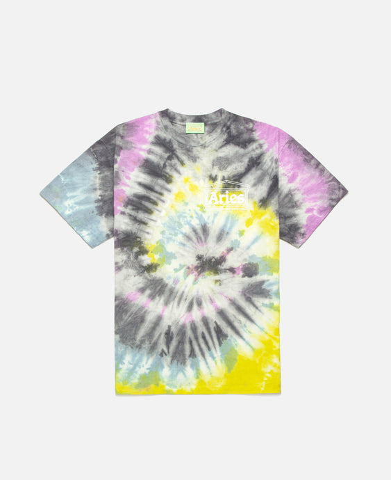 Temple Tie-Dye S/S T-Shirt (Multi)