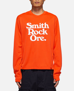 AS M NRG ACG Gift Shop Perf L/S T-Shirt (Orange)