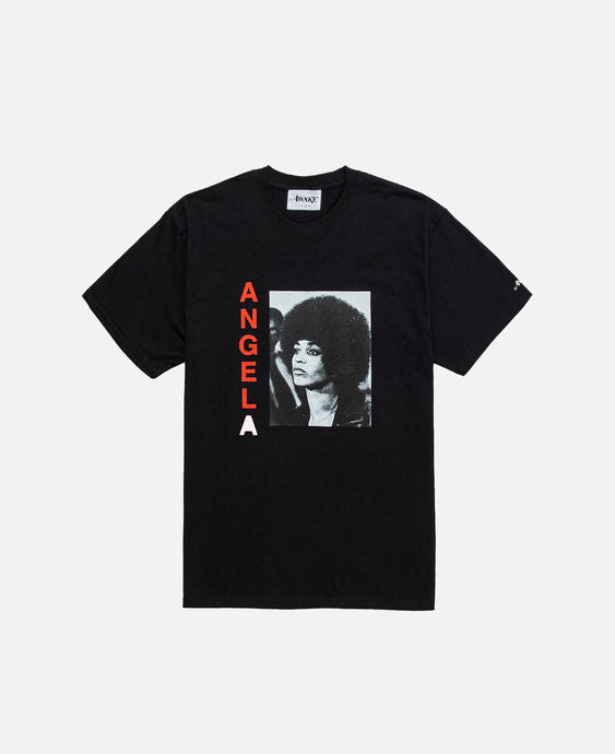 Angela Davis S/S T-Shirt (Black)